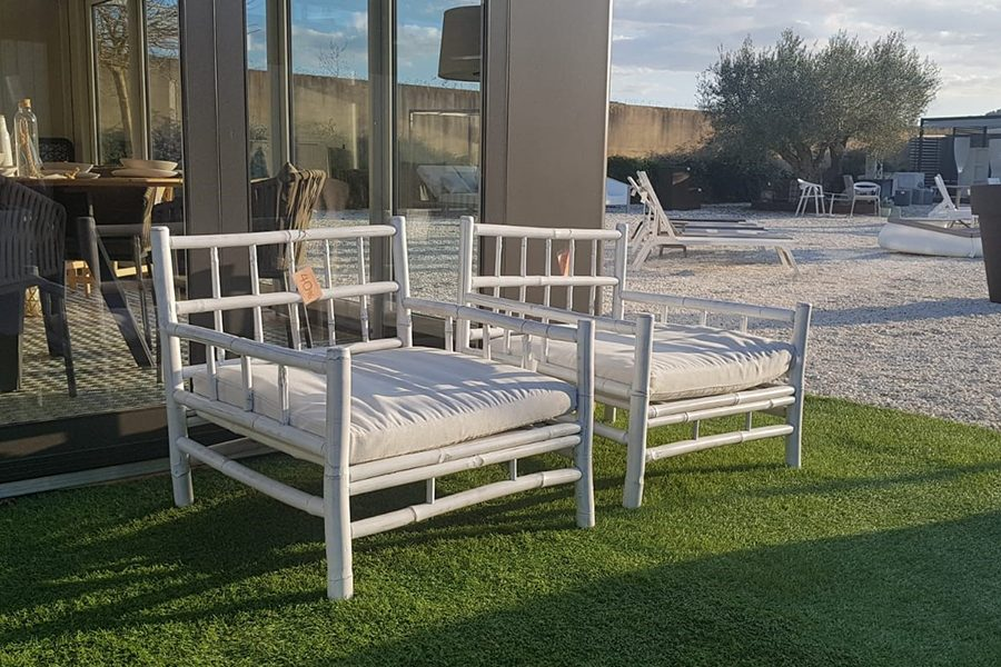 -40% Conjunto Butaca Bamboo Lounge · Antes 787.50€ ¡Ahora 472.50€!