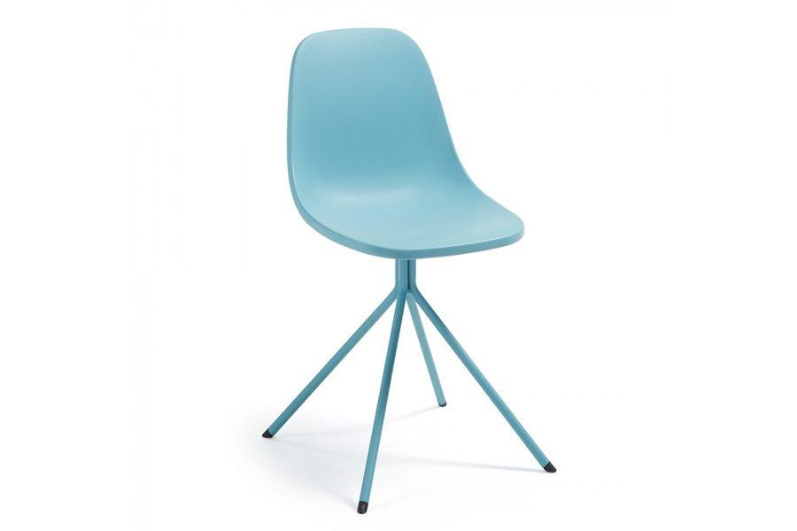 -50% Silla Mint. Metal Y Plástico Azul · Antes 76.65€ ¡Ahora 38.35€!
